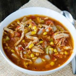 Instant Pot Chicken Fiesta Soup.