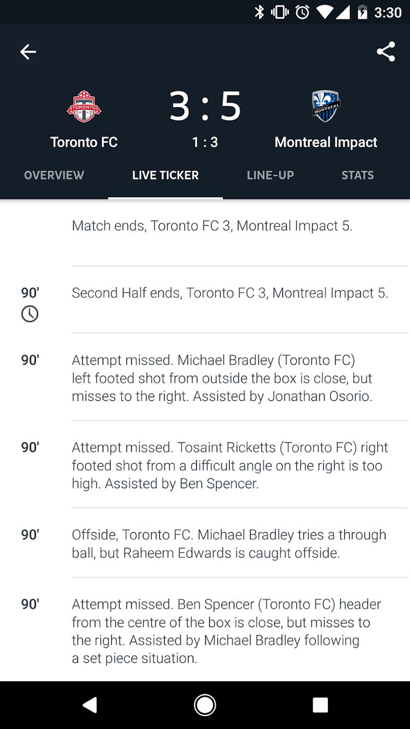 Onefootball Live Soccer Scores Screenshot 2