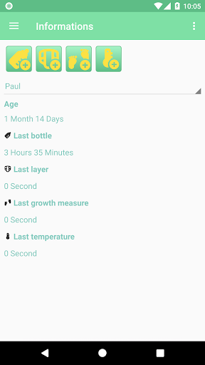 MesureBib - Baby diary (Bottles, diapers and more) 3.3 screenshots 3