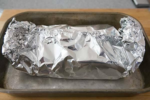 Wrap in foil and bake: Wrap the corned beef with foil in a way...