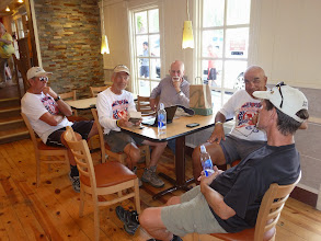 Photo: Day 24 Hot Springs SD to Mt Rushmore (Keystone SD) 53 miles 5600' climbing: Coffee shop IT HQ in Keystone SD