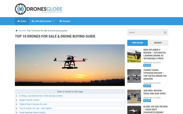 DronesGlobe open in new tab