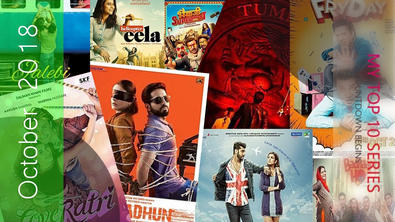 Bollywood Movies Releasing This Month (October 2018)