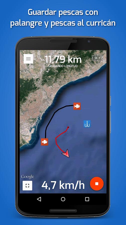 Fishing points pesca y gps aplicaciones de android en for Fishing gps apps