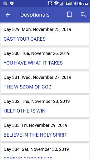 devotional bible  multi-versions(offline) screenshot 3