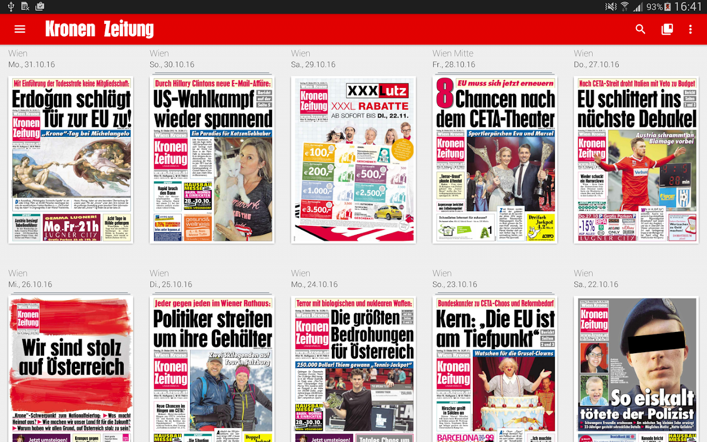 Krone ePaper - Android-Apps auf Google Play