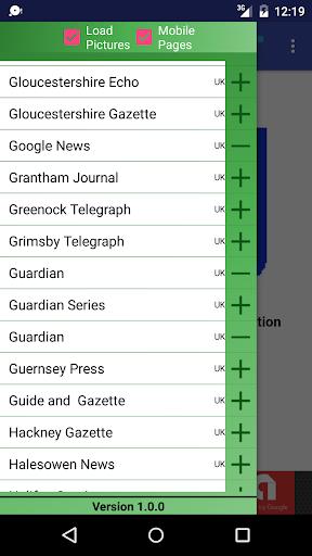 UK Newspapers  screenshots 2