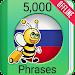Learn Russian Phrasebook - 5,000 Phrases icon
