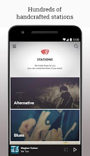 Slacker Radio- screenshot thumbnail