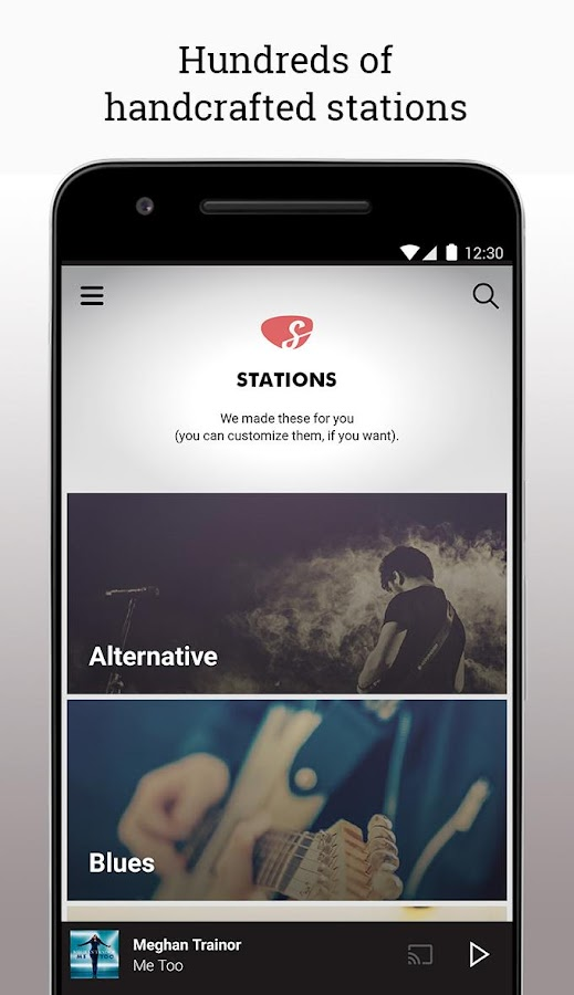 Slacker Radio- screenshot