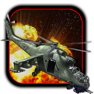 Military Helicopter Air Strike Icon