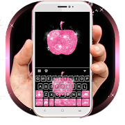 App Hot Pink Apple Keyboard Theme apk for kindle fire