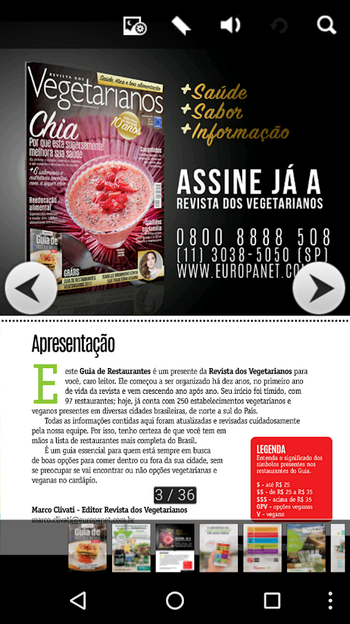 Guia Restaurantes Vegetarianos- screenshot