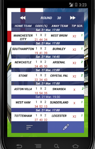 EPL PREDICTIONS