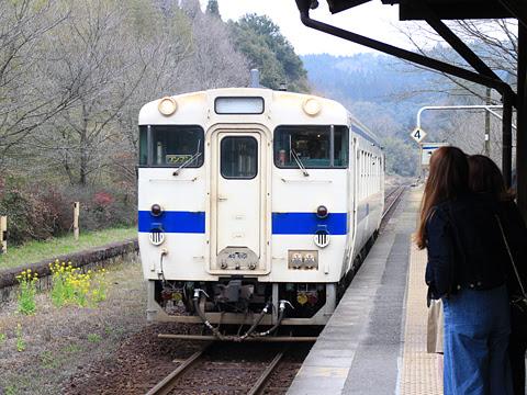 JR九州 キハ40 肥薩線 嘉例川駅にて