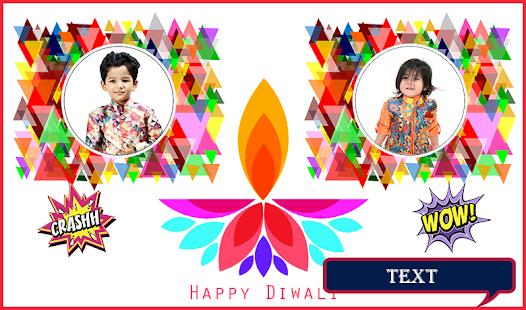 Diwali Dual Photo Frames - náhled