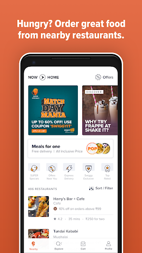 Swiggy Food Order & Delivery screenshot 1