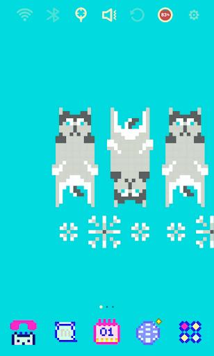 Blue Siberian Husky Theme