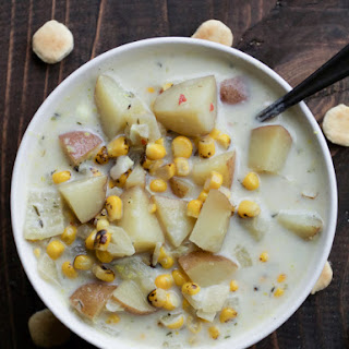 Roasted Corn and Red Potato Soup