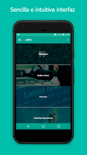 Allify -  Radio, TV, Noticias... for PC