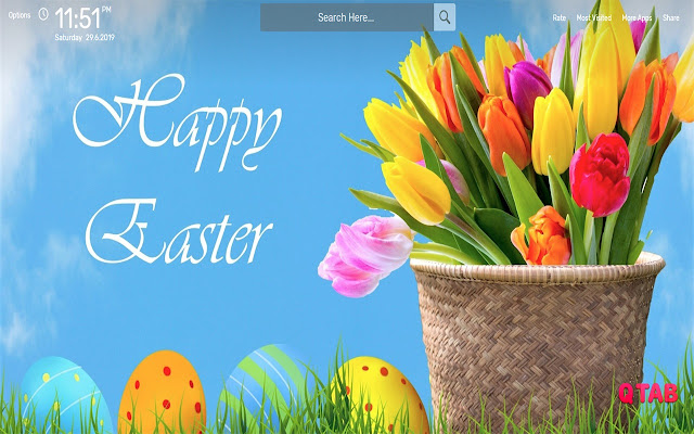 Easter Wallpapers HD Theme