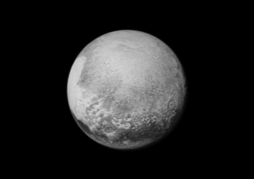 รูปภาพใหม่ของดาวพลูโตในระยะใกล้กว่าเดิม 3