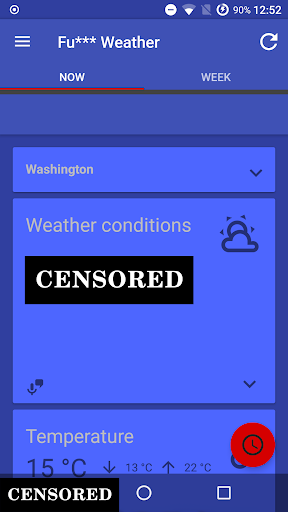 Fu*** Weather (Funny Weather) 9.1.15 (20181129 18:30)-release screenshots 1