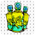 Graffiti Color By Number - Pixel Art icon