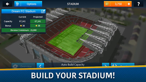 Dream League Soccer 2018 app (apk) free download for Android/PC/Windows screenshot