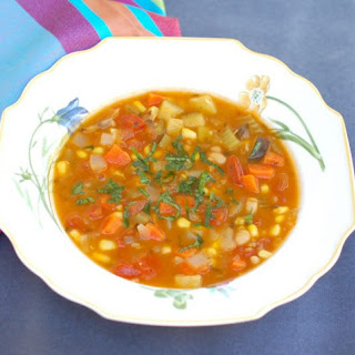 Late Summer Vegetable Soup