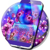 Cherry Flowers Keyboard