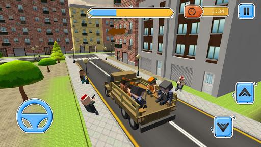 Blocky Vegas Crime Simulator:Prisoner Survival Bus image   4