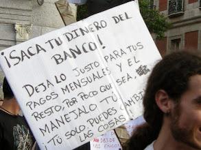 Photo: Puerta del Sol, Madrid, Movimiento 15-M, 21 de mayo de 2011, a10