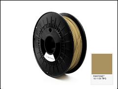 FiberForce Pantone (R) 16-1126 TPG PLA Filament - 2.85mm (0.75kg)