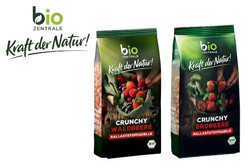 Bild für Cashback-Angebot: biozentrale – Kraft der Natur Crunchy Müslis