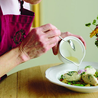 Pike Quenelles in Fennel Broth.