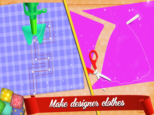 Cute Dress Maker Shop: Little Tailor Boutique android2mod screenshots 4