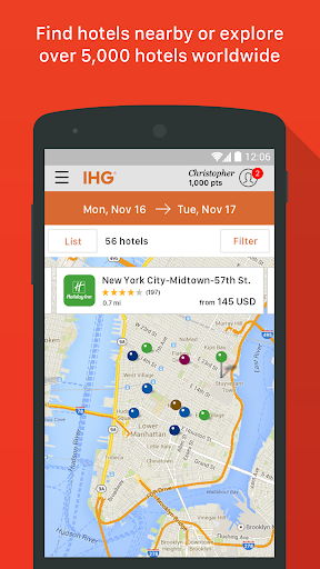 IHG® Hotel Booking & Deals Screenshot