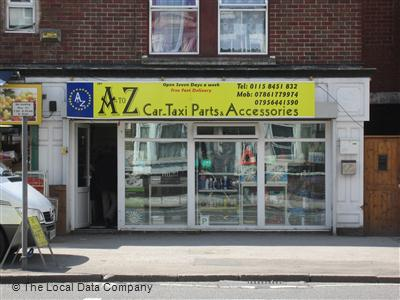 A To Z Auto Parts >> A To Z Car Taxi Parts Accessories On Alfreton Road Car