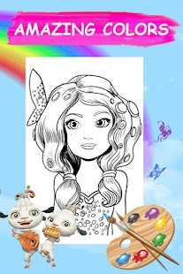 Mia and color me coloring book for girl - Android Apps on Google Play