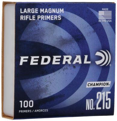 Federal primers 215 Large Rifle Magnum