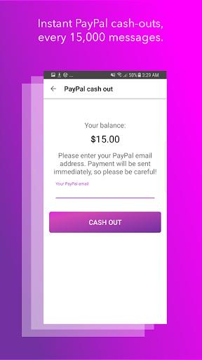 Blabber - Make Money Messenger