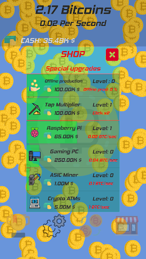 Bitcoin Clicker screenshot 3