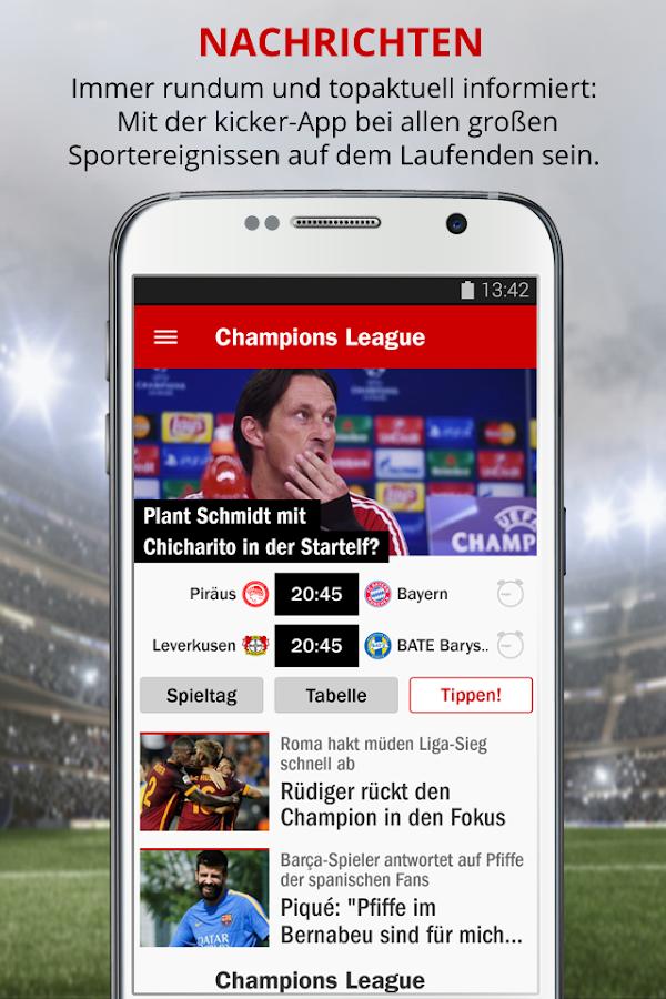 kicker Fußball News- screenshot