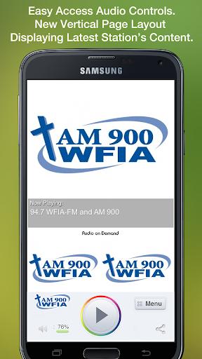 94.7 WFIA-FM and AM 900