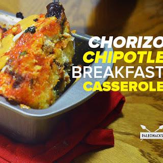 Chorizo Chipotle Breakfast Casserole