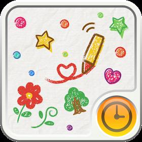 CRAYON Clock Widget