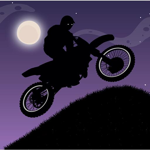 赛车游戏のダークモトレースバイクの挑戦 LOGO-記事Game