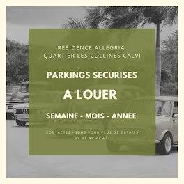 parking à Calvi (2B)