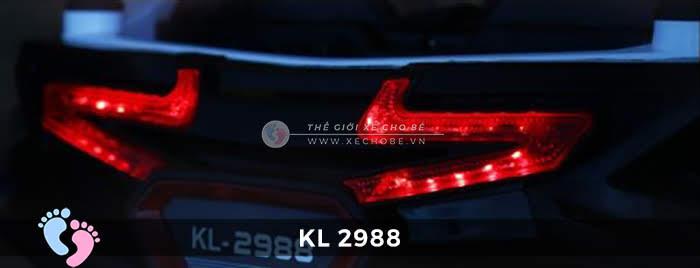 Xe ô tô điện địa hình trẻ em KL-2988 21
